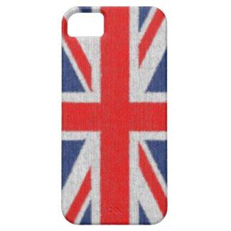 Distressted British Flag iPhone 5 Case