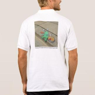 Distribución con los amigos polo camisetas