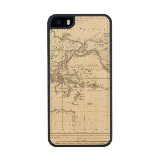 distribución de la gente germánica de Indo Funda De Arce Carved® Para iPhone 5 Slim
