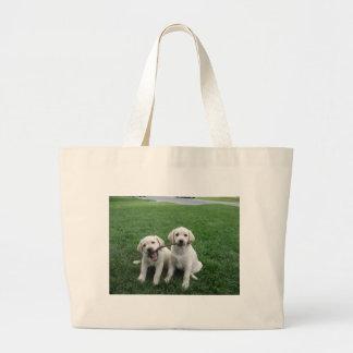 Distribución de perritos del laboratorio bolsa de mano