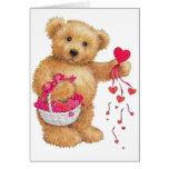 Distribución del amor tarjetas