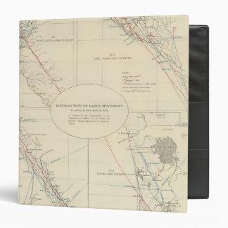 """Distribución del movimiento de tierra en Californi Carpeta 1 1/2"""""""