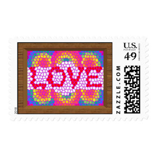 Distribución del sello del amor