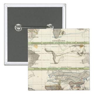 Distribución geográfica pin cuadrado