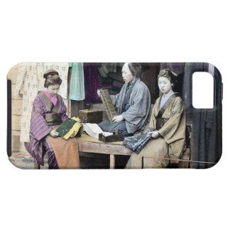 Distribuidor autorizado 1870 de la tela de Japón iPhone 5 Funda