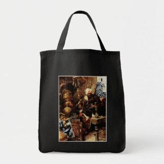 Distribuidor autorizado árabe entre sus antigüedad bolsa tela para la compra
