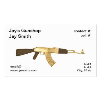 Distribuidor autorizado de arma tarjetas de visita