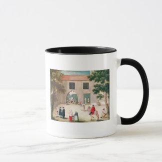 Distributing Alms to the Poor Mug