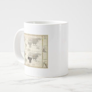 Distribution of rodents and animals giant coffee mug