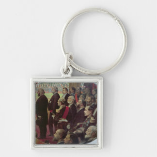 Distribution of the Flags, 14th July 1880 Keychain