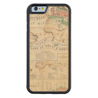 Distribution plants carved® maple iPhone 6 bumper case