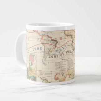 Distribution plants large coffee mug
