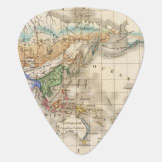 Distribution primitive du genre humain guitar pick