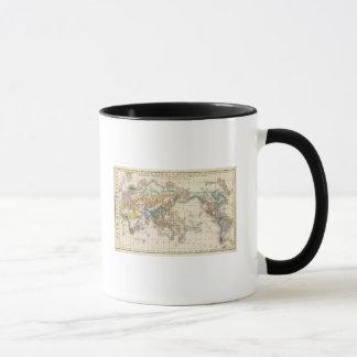 Distribution primitive du genre humain mug