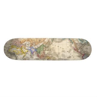 Distribution primitive du genre humain skateboard deck