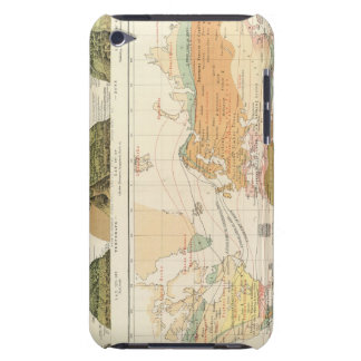 Distribution vegetation iPod touch case