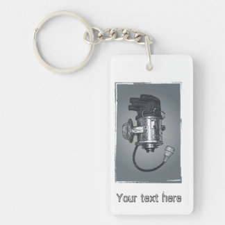 Distributor Ignition Systems Keychain