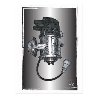 Distributor Ignition Systems Postcard