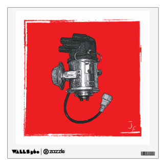 Distributor Ignition Systems Wall Sticker