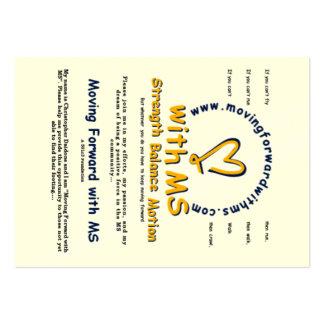 distribuya las tarjetas tarjetas de visita grandes