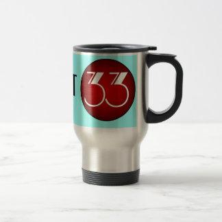 District 33 Logo Travel Mug