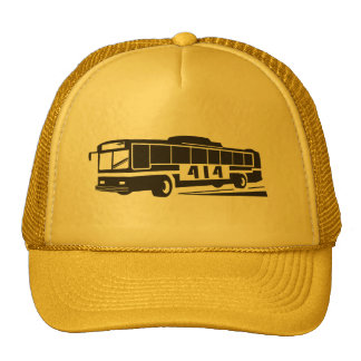 District 414 Bus Driver Hat