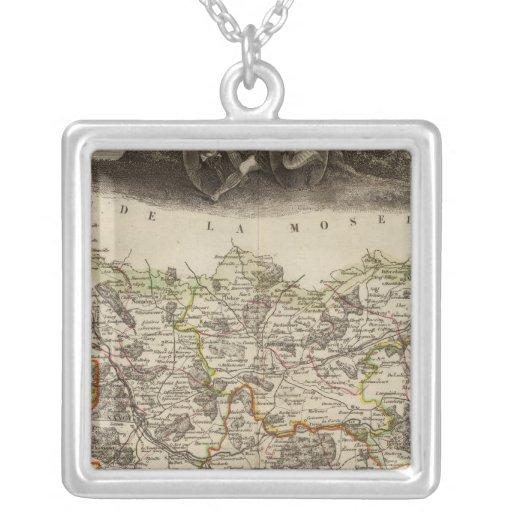 District boundaries jewelry
