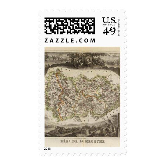District boundaries postage