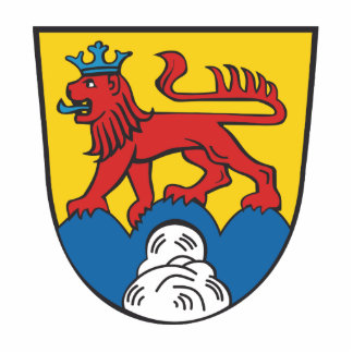 District Calw coat of arms Cutout