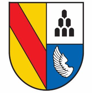 District Emmendingen coat of arms Statuette