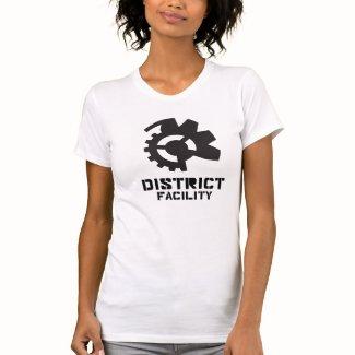 District Facility - White Woman T-Shirt