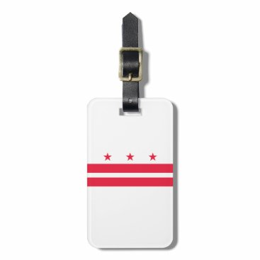 USA Themed District of Columbia Bag Tag