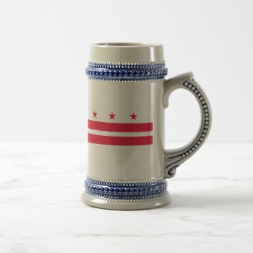 USA Themed District of Columbia Beer Stein