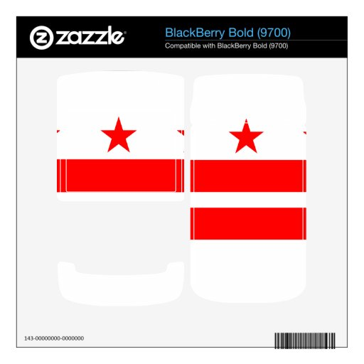 DISTRICT OF COLUMBIA BlackBerry SKINS