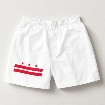 USA Themed District of Columbia Boxers