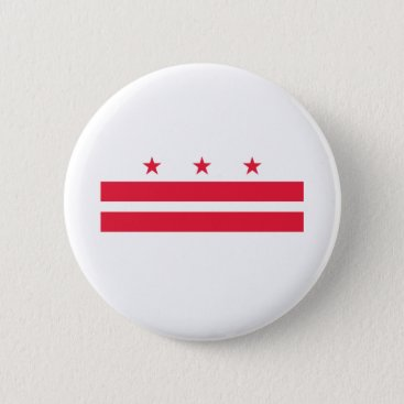 USA Themed District of Columbia Button