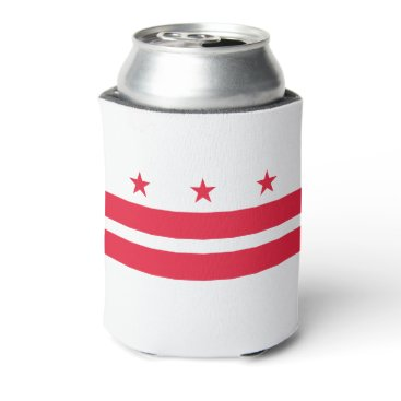 USA Themed District of Columbia Can Cooler