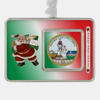District of Columbia Christmas Ornament