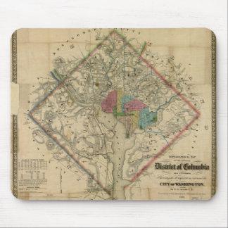 District of Columbia Civil War Era Map Mouse Pad