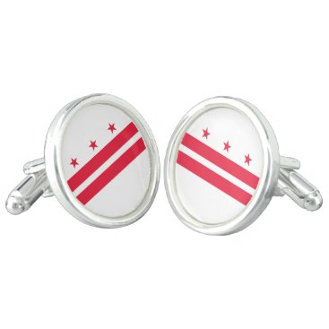 USA Themed District of Columbia Cufflinks