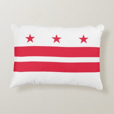USA Themed District of Columbia Decorative Pillow