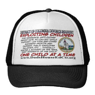 District of Columbia  Divorce Industry.. Trucker Hat