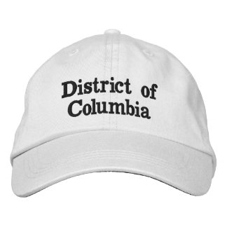 District of Columbia Embroidered Hat