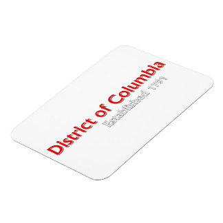 District of Columbia Established Flexible Magnet