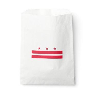 USA Themed District of Columbia Favor Bag