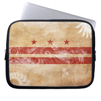 District of Columbia Flag Laptop Computer Sleeve
