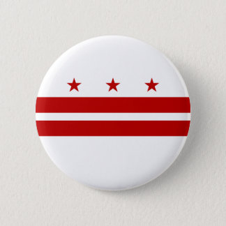 District of Columbia Flag Pinback Button