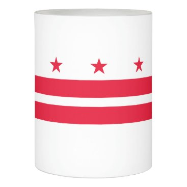 USA Themed District of Columbia Flameless Candle