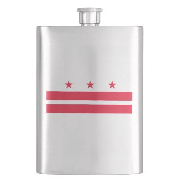 USA Themed District of Columbia Flask
