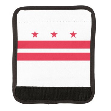 USA Themed District of Columbia Luggage Handle Wrap